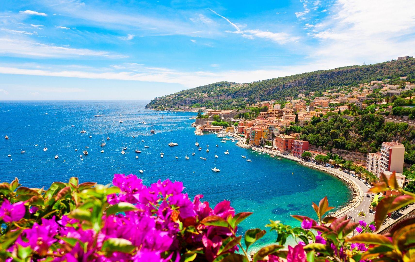 Frankreich - Côte d'Azur Meer