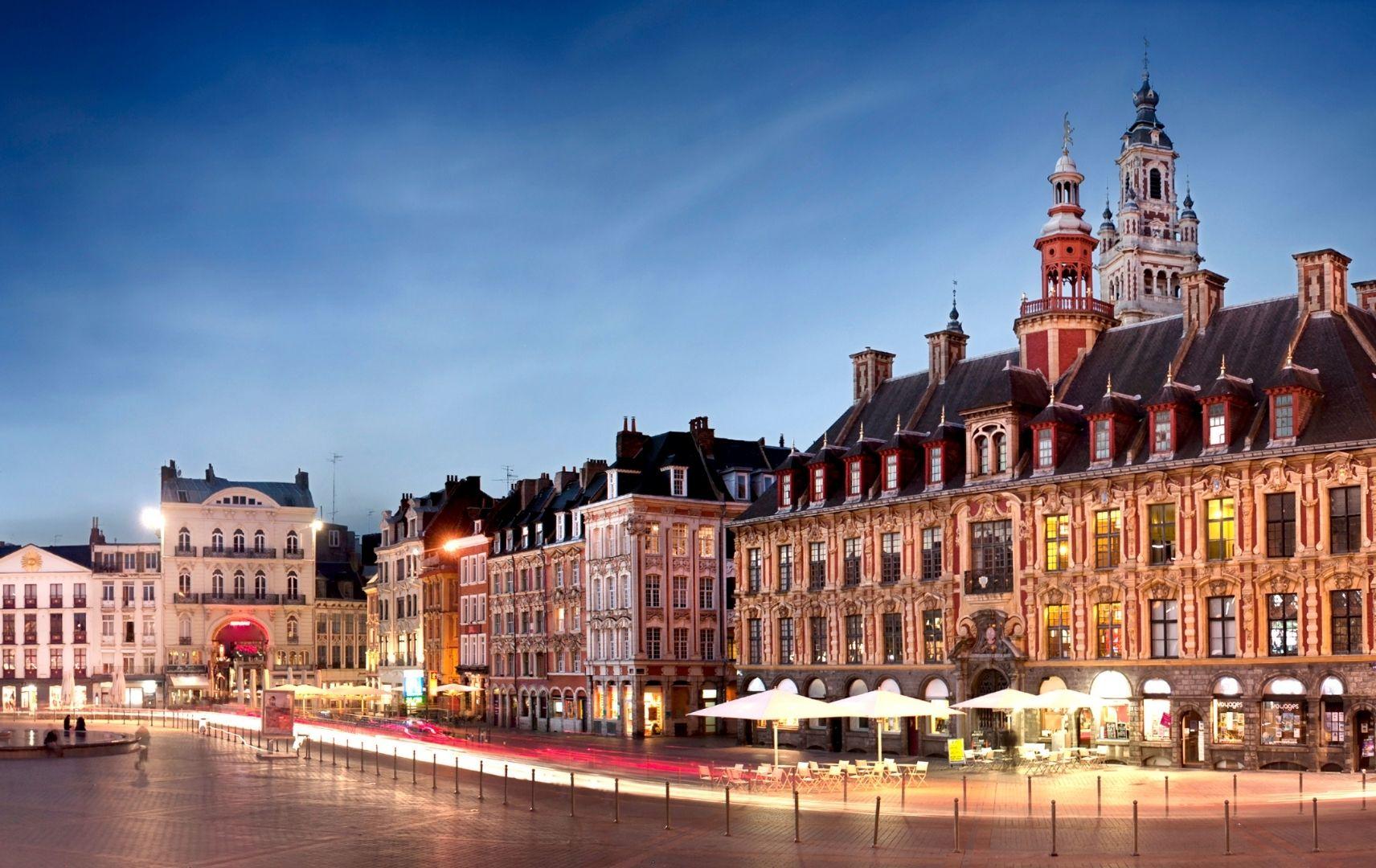 Frankreich - Lille Stadt