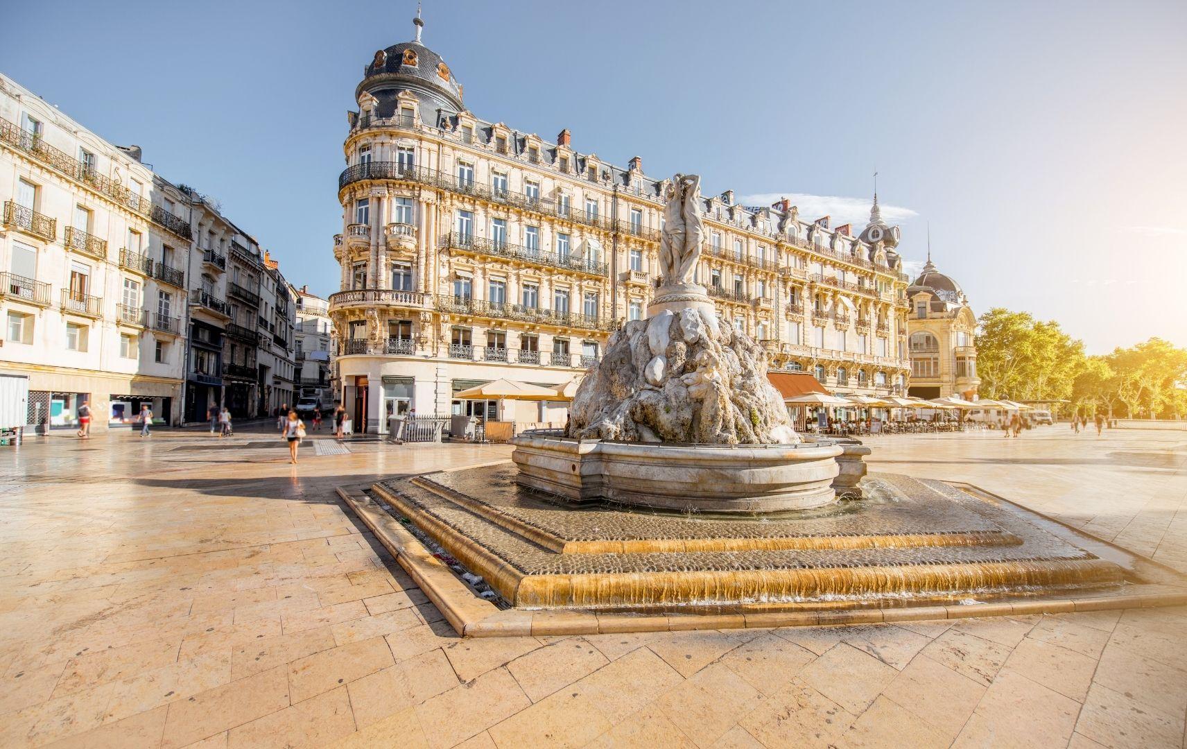Frankreich - Montpellelier Stadt