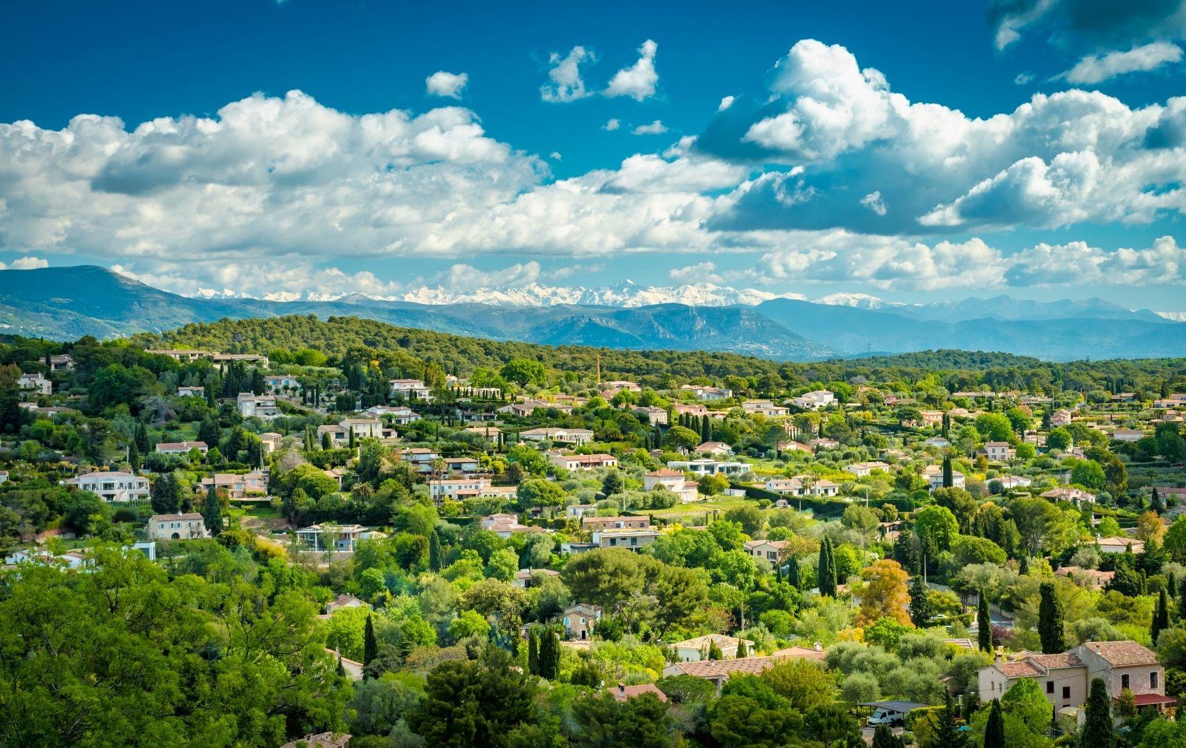 Frankreich - Mougins Landschaft