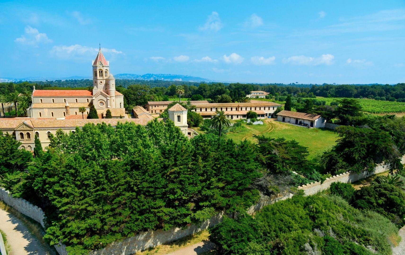 Frankreich - Saint Honorat Landschaft
