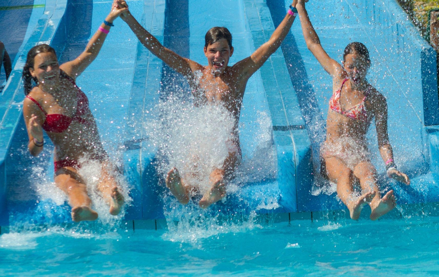 Freizeitpark - Wasserrutsche