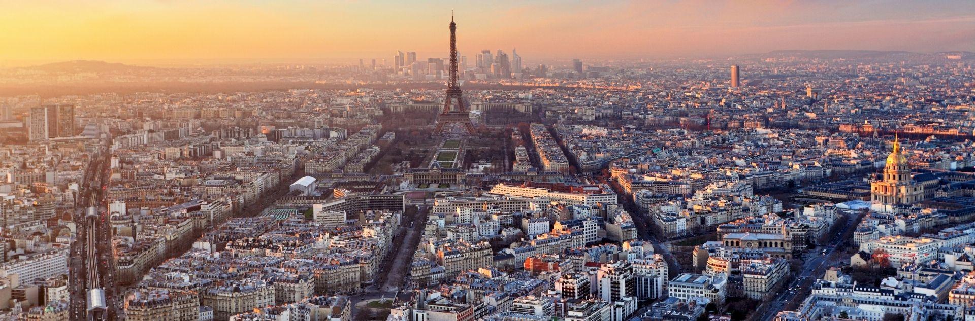 Urlaub in Frankreich - Paris Skyline