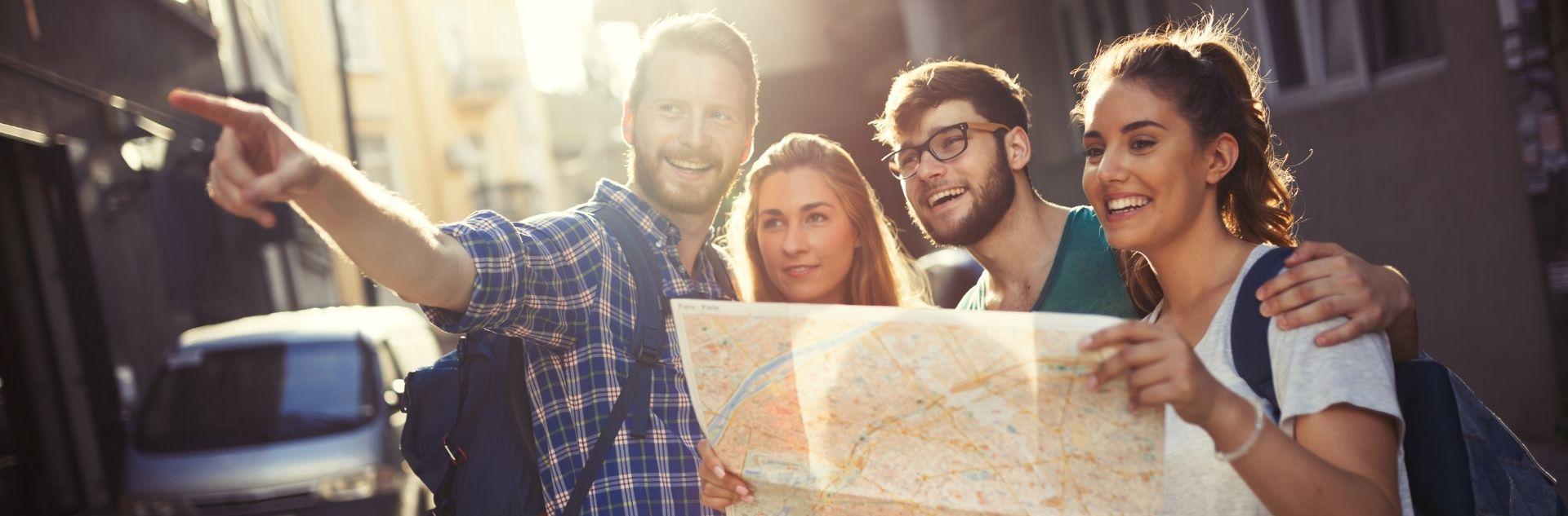 Europareise - Karte - Europa Urlaub