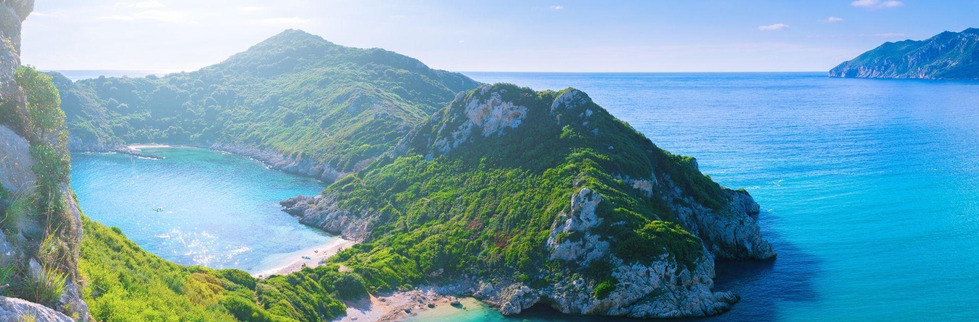 Reiseziel Korfu - Landschaft
