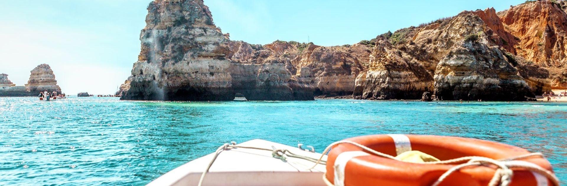 Reiseziel Portugal - Boot