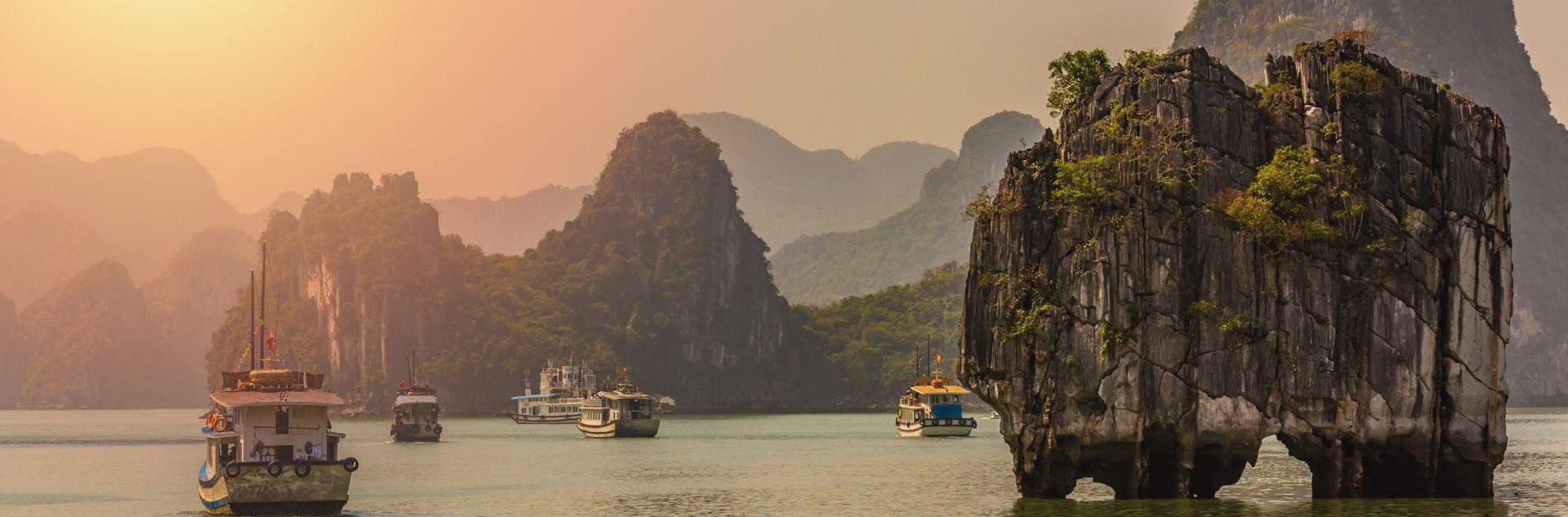 Fernreise Asien - Vietnam Landschaft