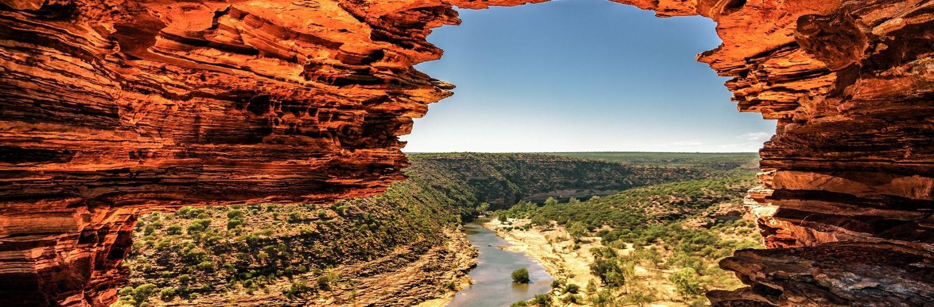 Fernreise Australien -Natur Red Stone