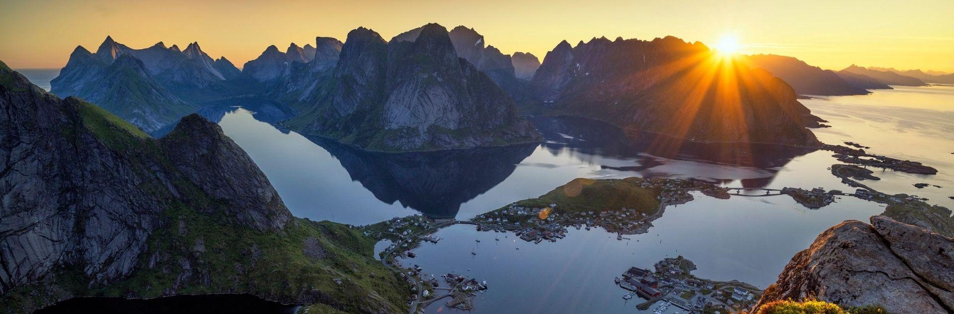 Reiseziel - Norwegen Landschaft