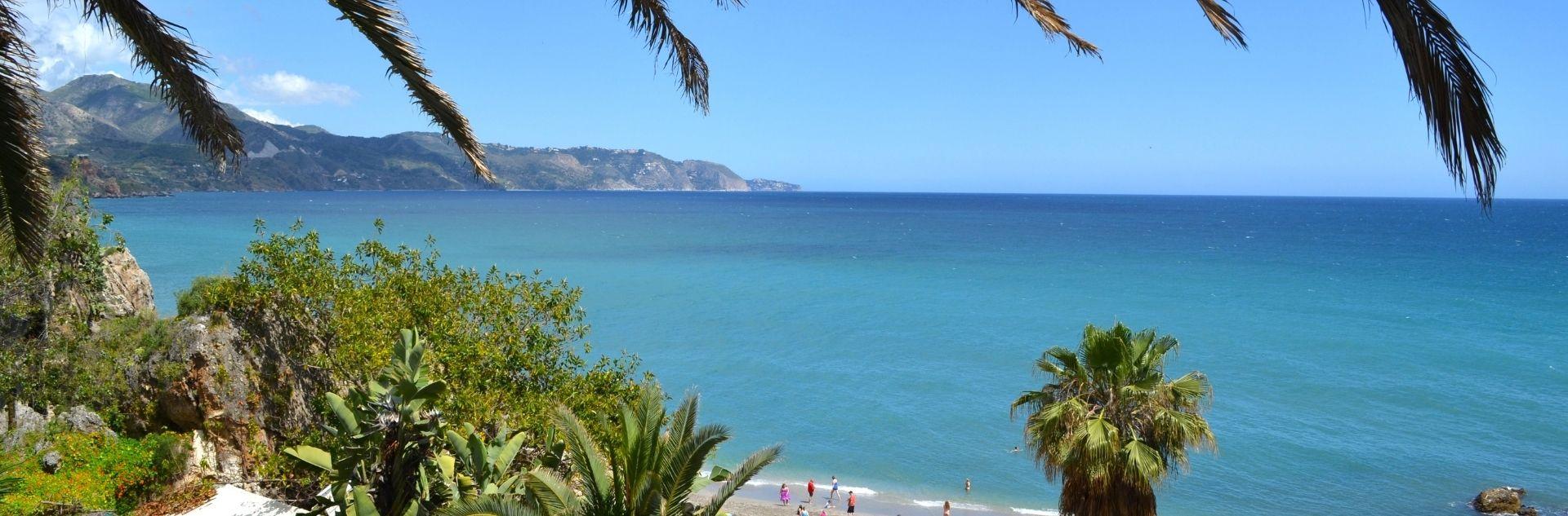 Spanien - Costa del Sol, Strand