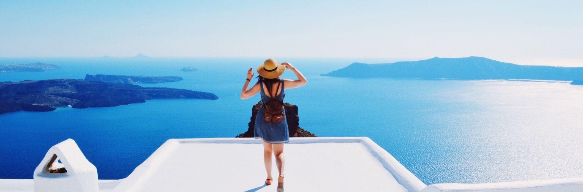 Reiseziel - Griechenland Meer
