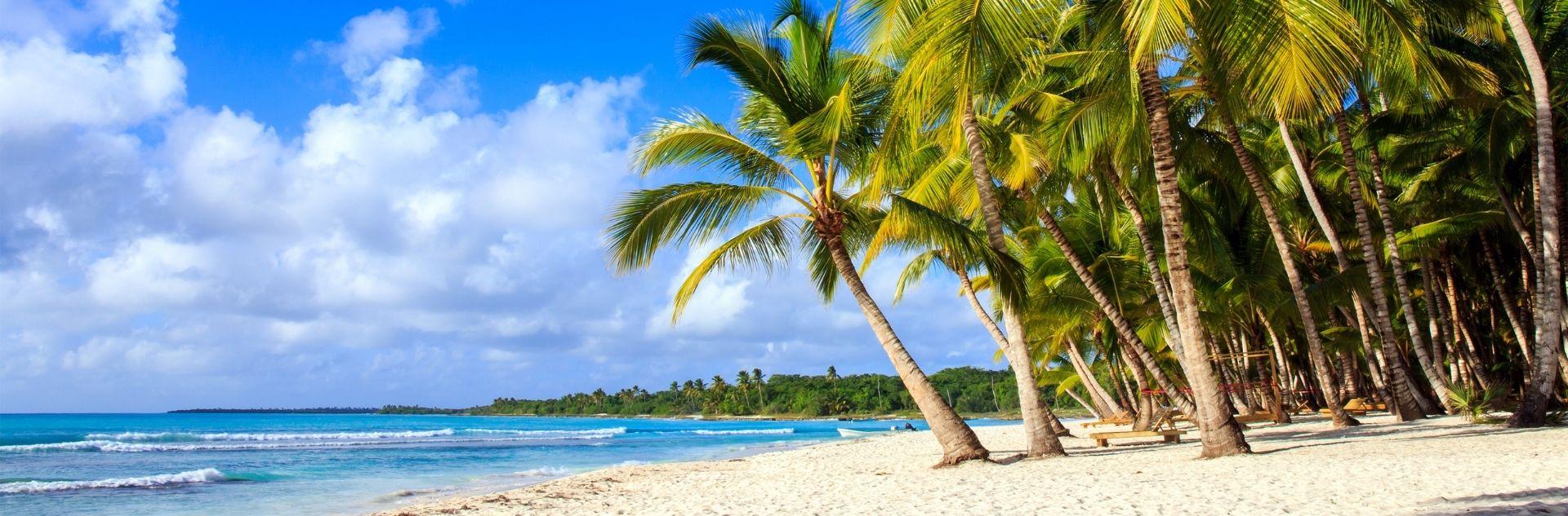 Dominikanische Republik, Strand, Palmen, Meer