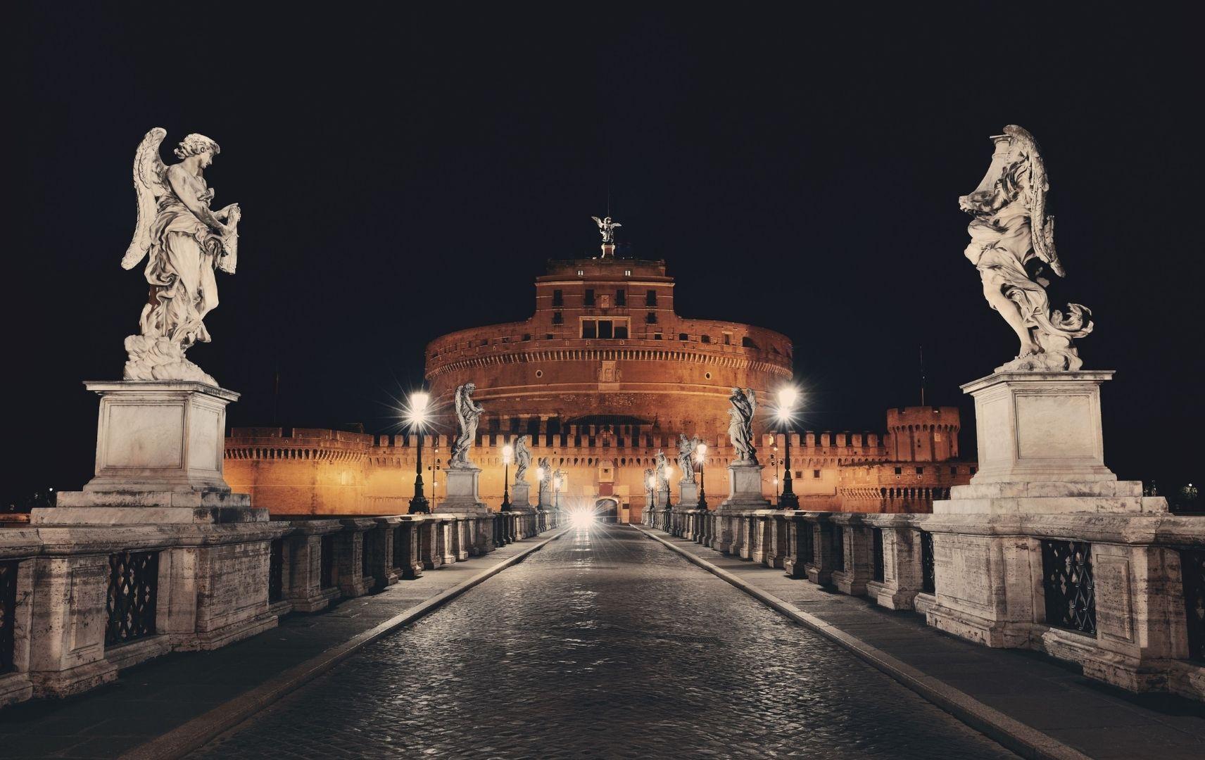 Italien - Rom Die Engelsburg