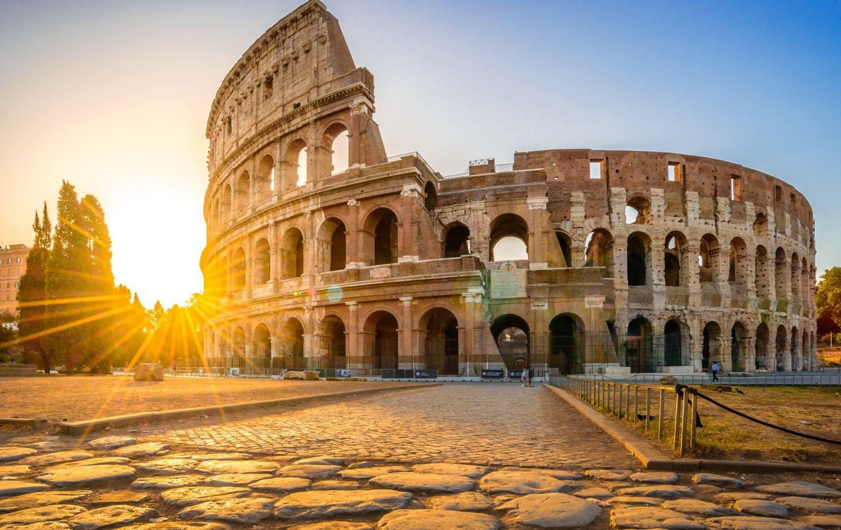 Italien - Rom Kolosseum