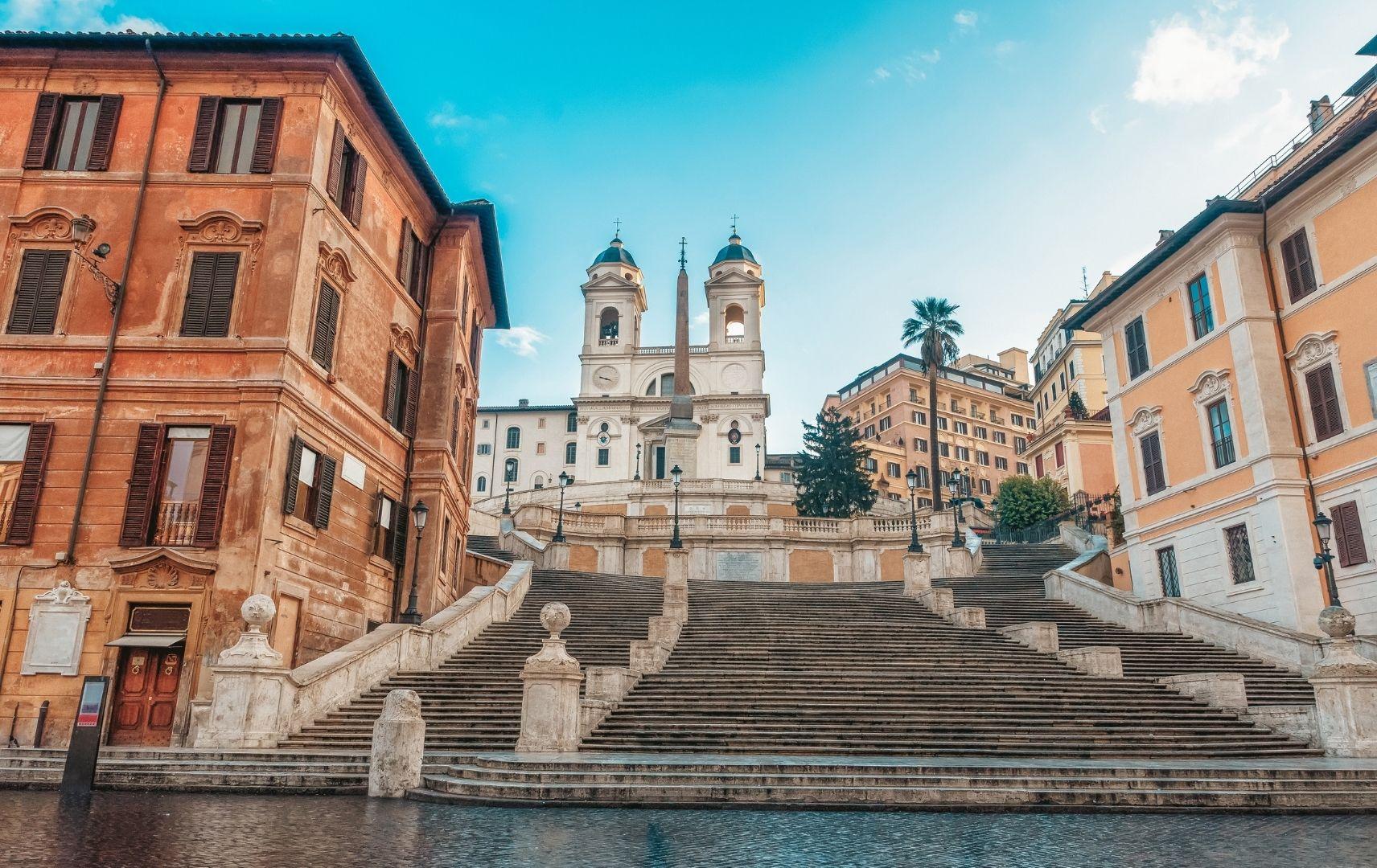 Italien - Rom Spanische Treppe