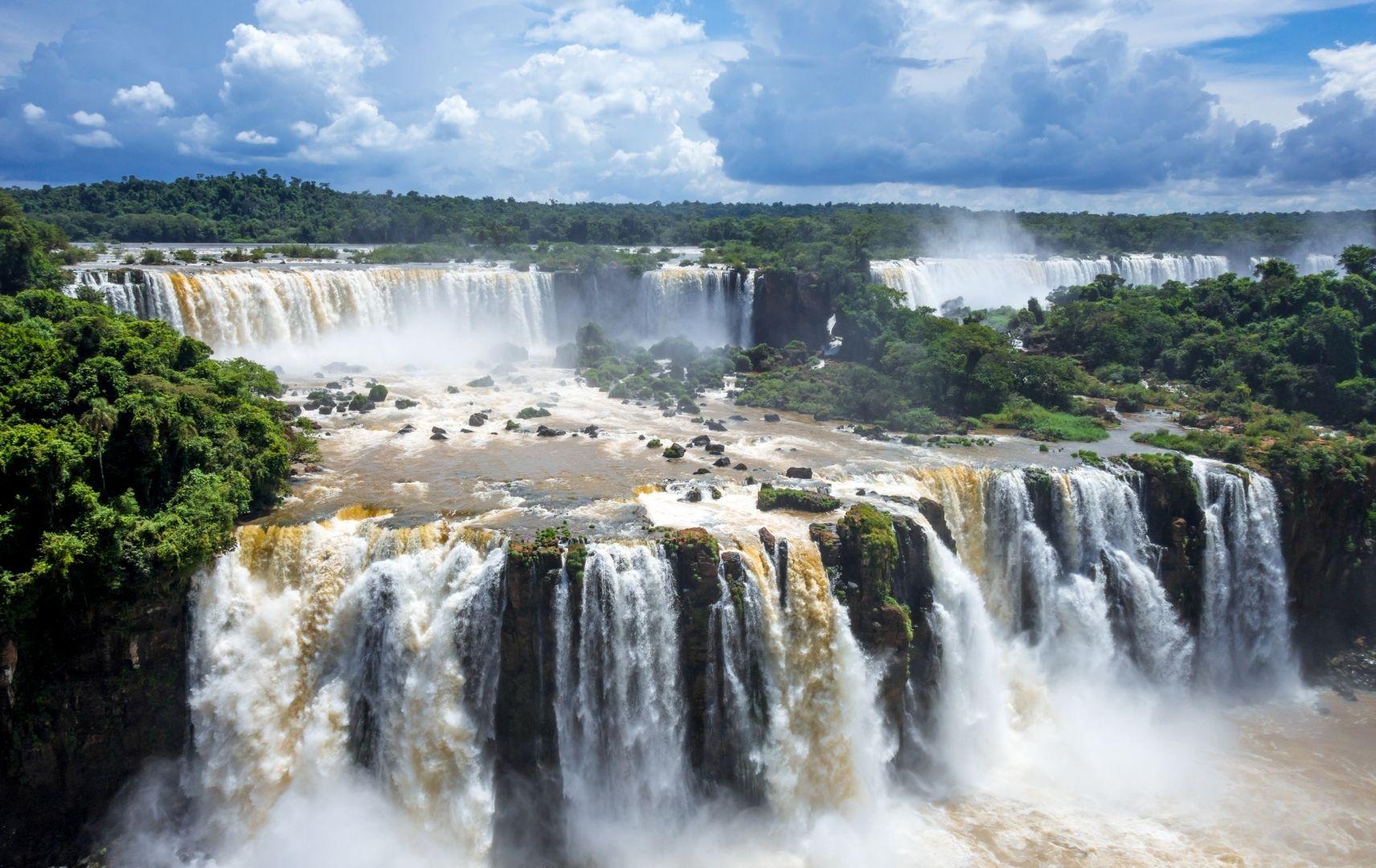 Reiseziel Südamerika - Brasilien, Iguazu Wasserfälle