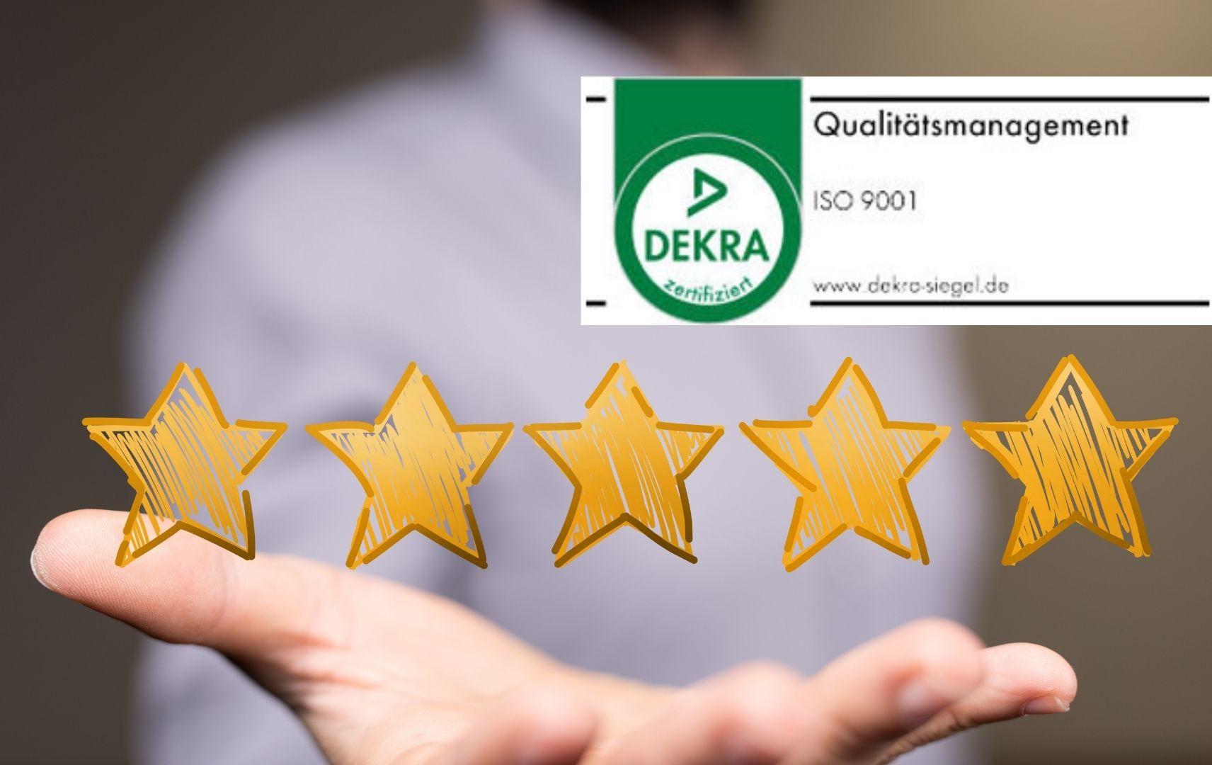 Dekra Siegel ISO 9001