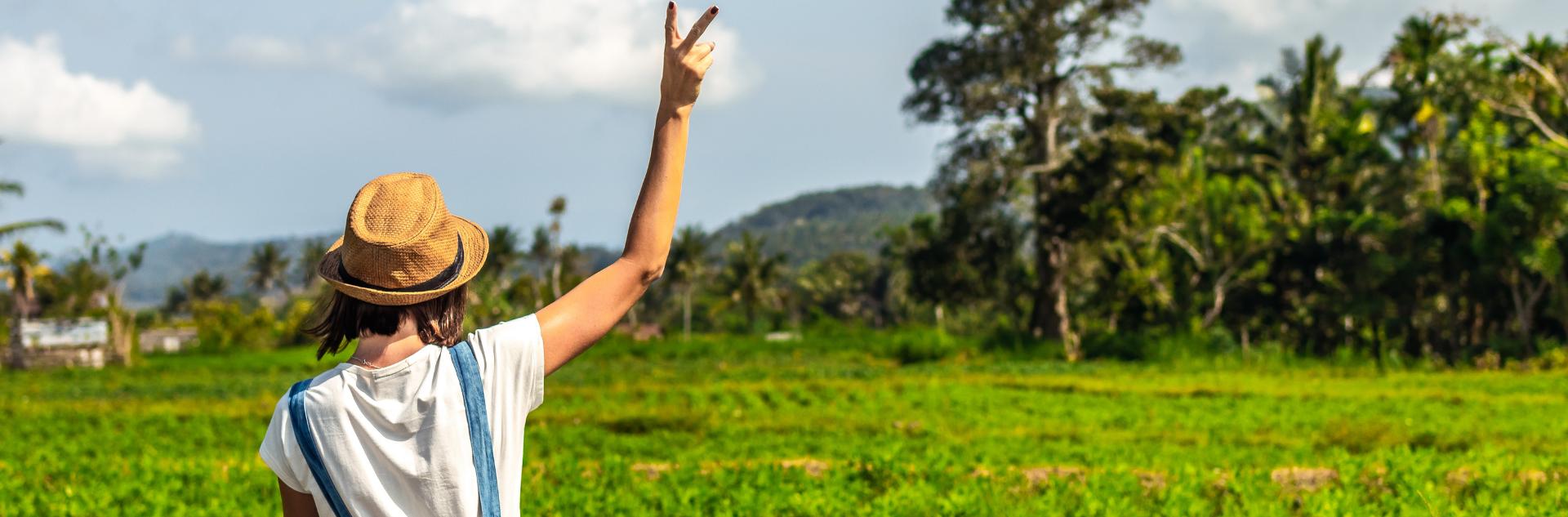 Allein Reisen - Bali Frau