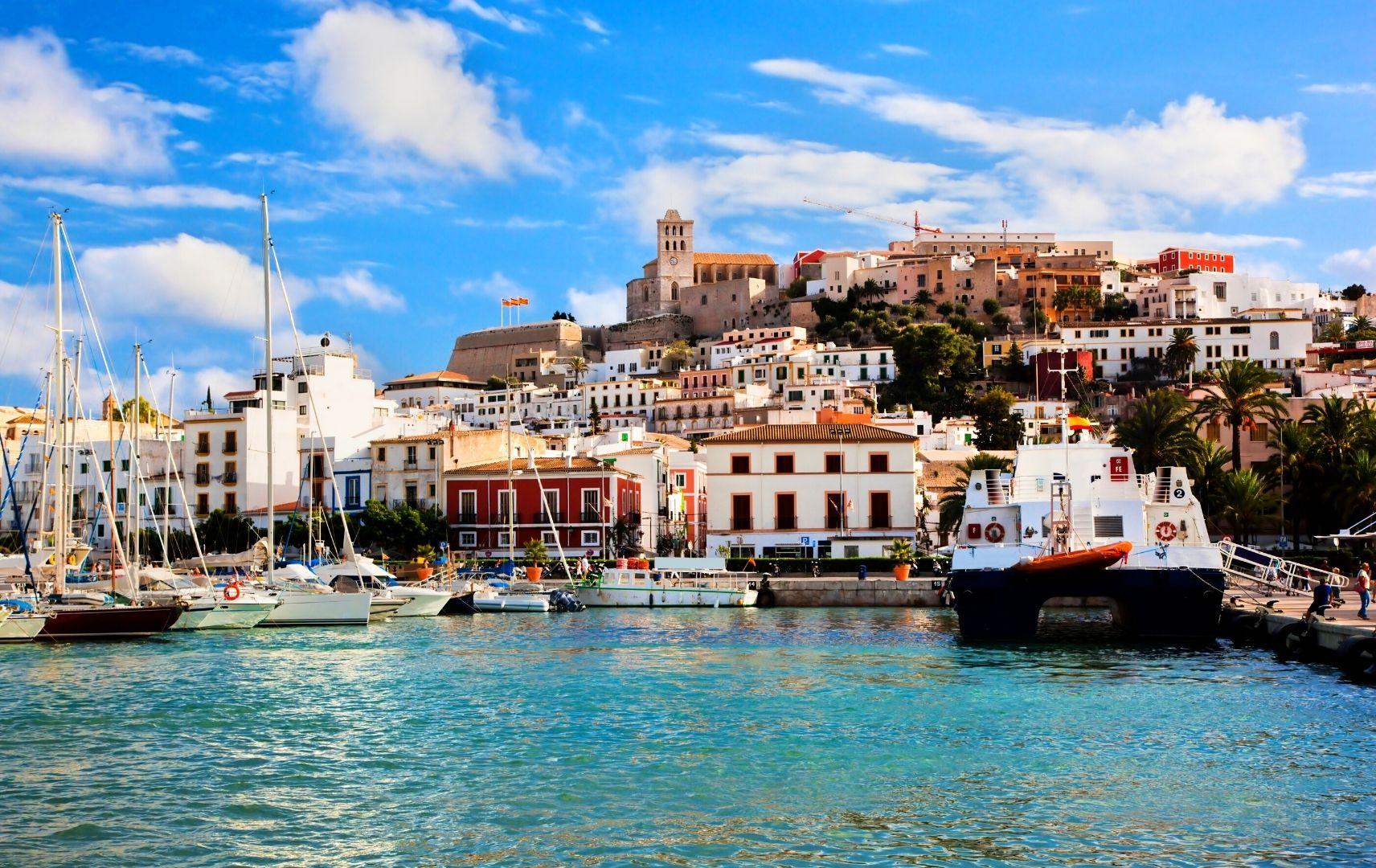 Ibiza Hafenansicht