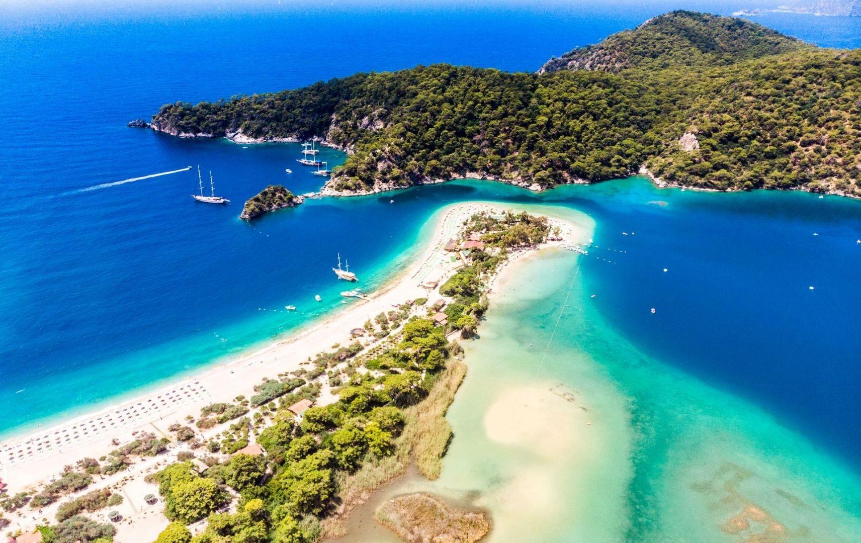 Blaue Lagune Türkei