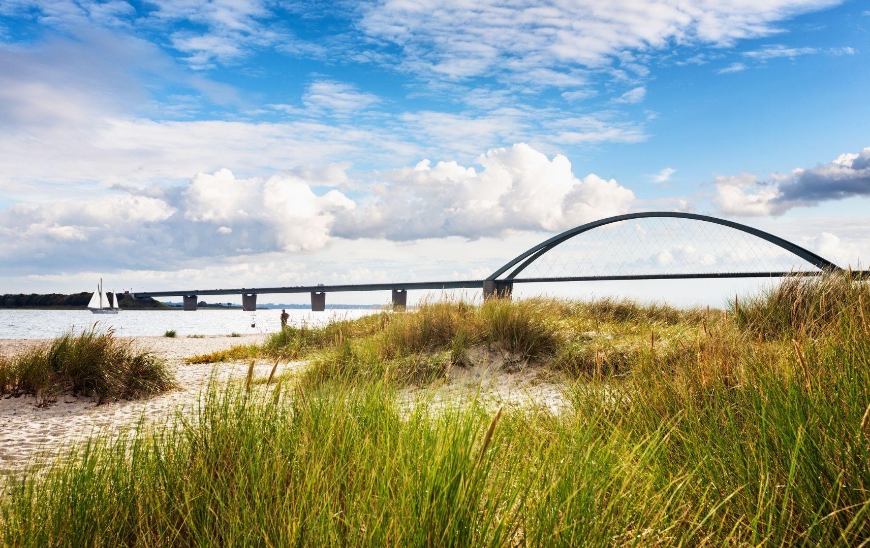 Brücke zum Festland Inselbrücke