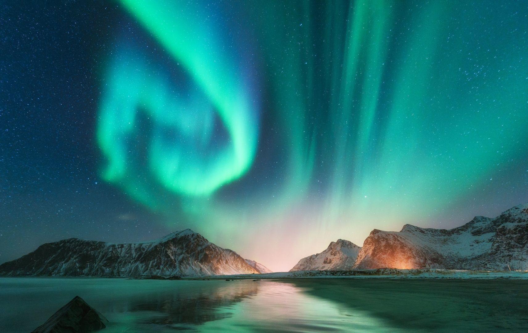 Reiseziel Norwegen - Polarlichter