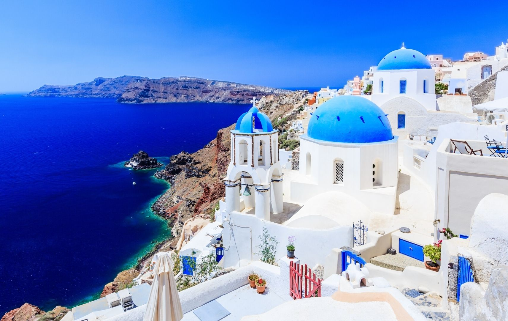 Reiseziel - Griechenland Stadt am Meer