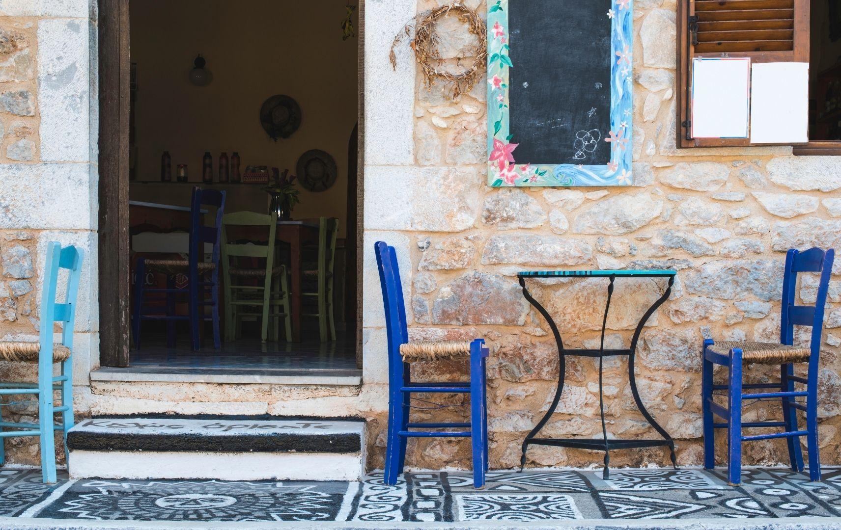 Reiseziel Griechenland - Restaurant