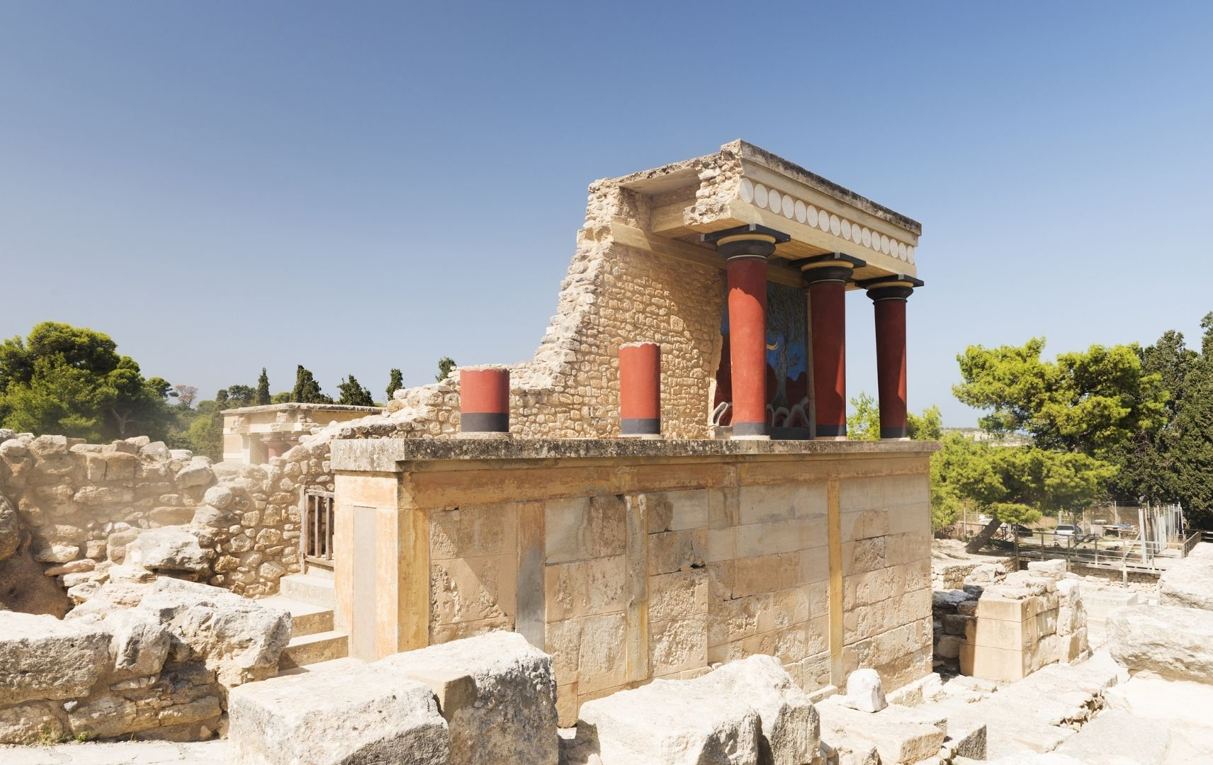 Reiseziel Kreta - Knossos