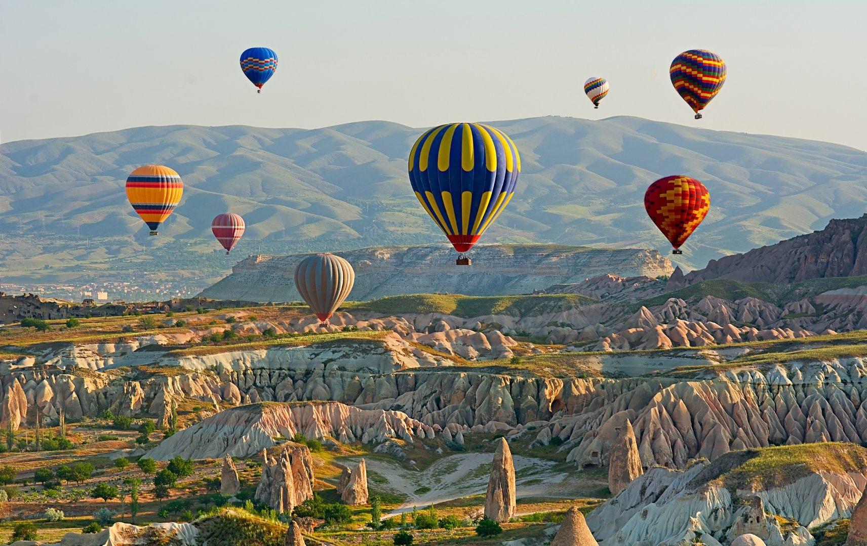 Reiseziel Türkei - Natur Kappadokien