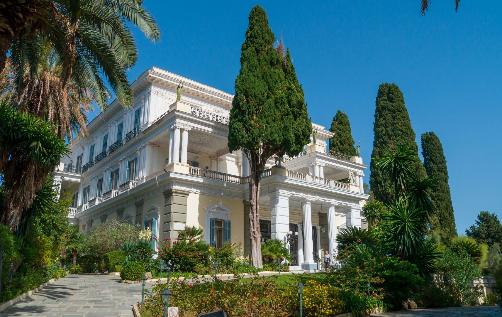 Reiseziel Korfu - Ferienhaus Achillion