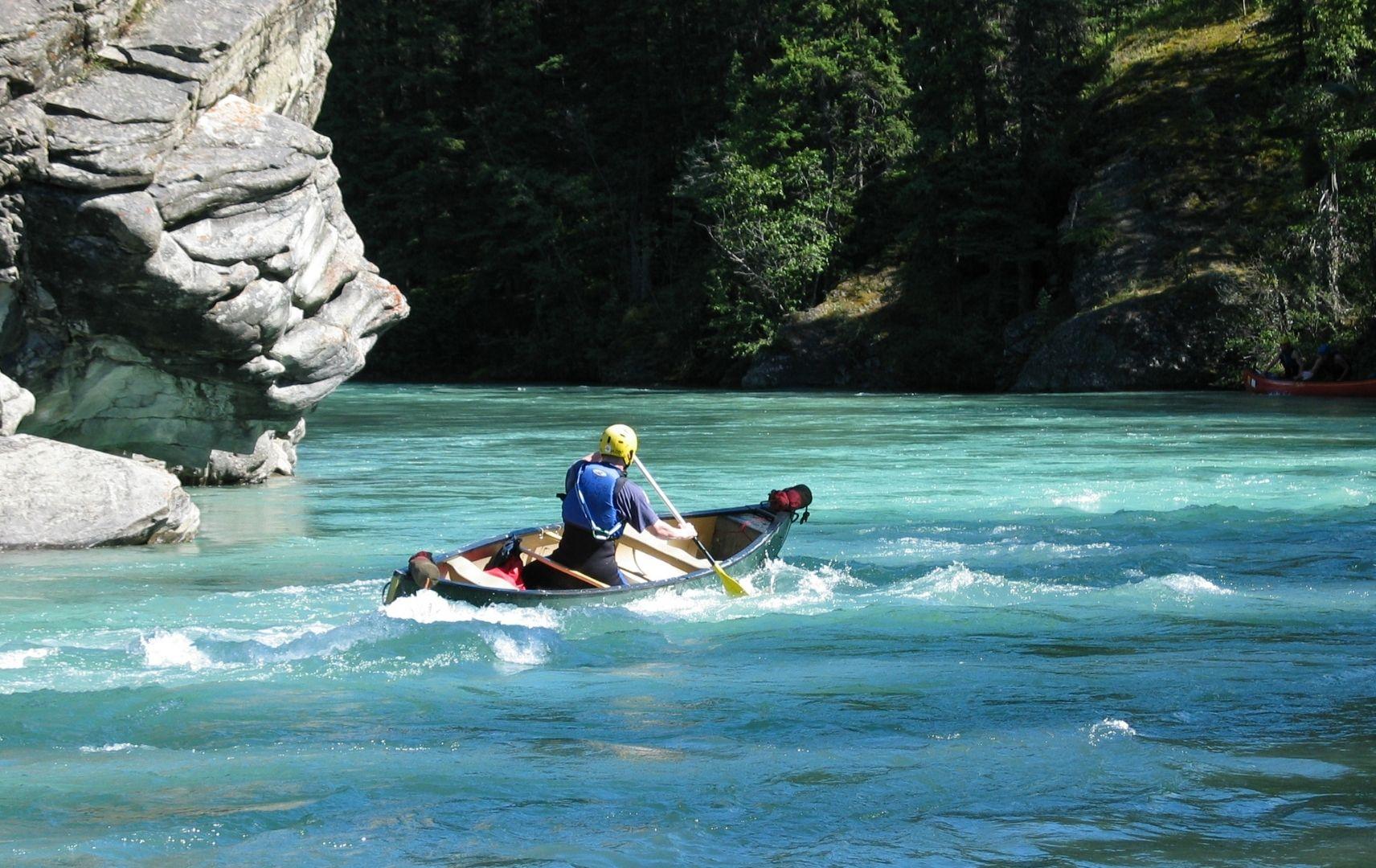 Reiseziel Schweiz - Kanufahrer