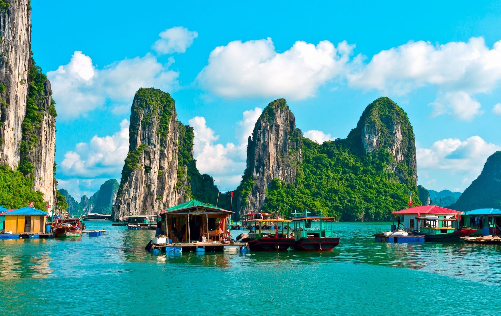 Fernreise Asien - Vietnam Hausboot