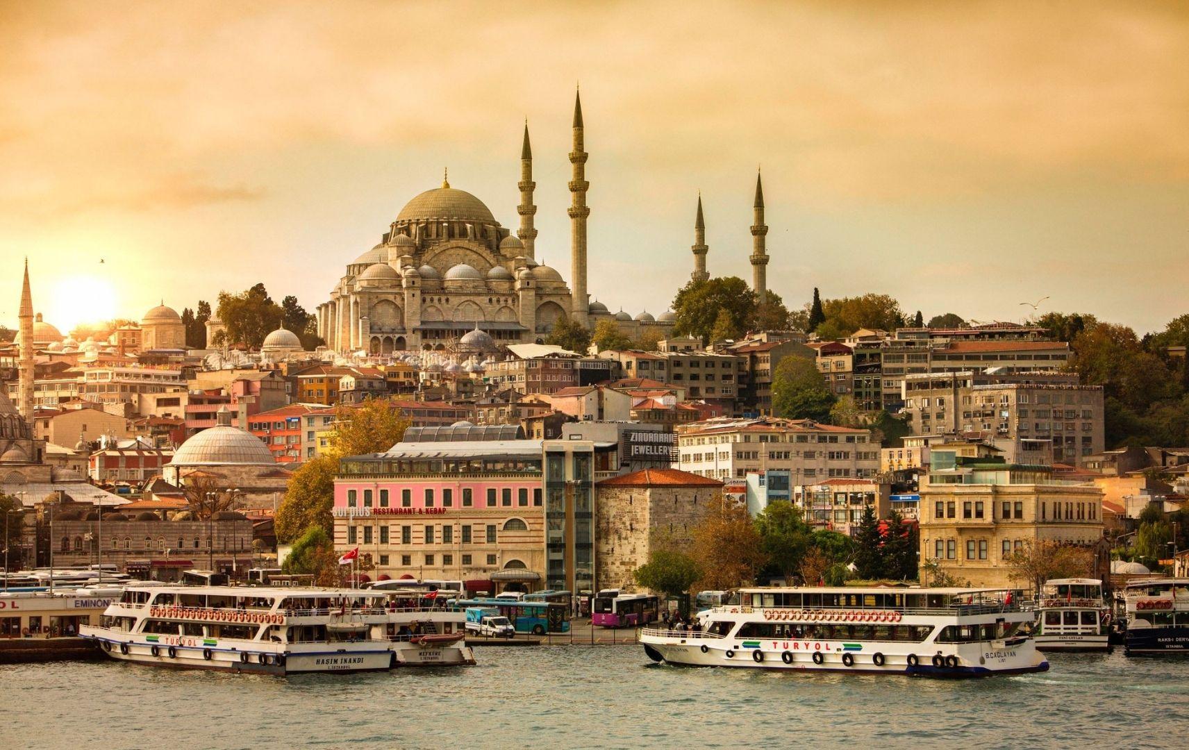 Reiseziel Türkei - Istanbul Moschee