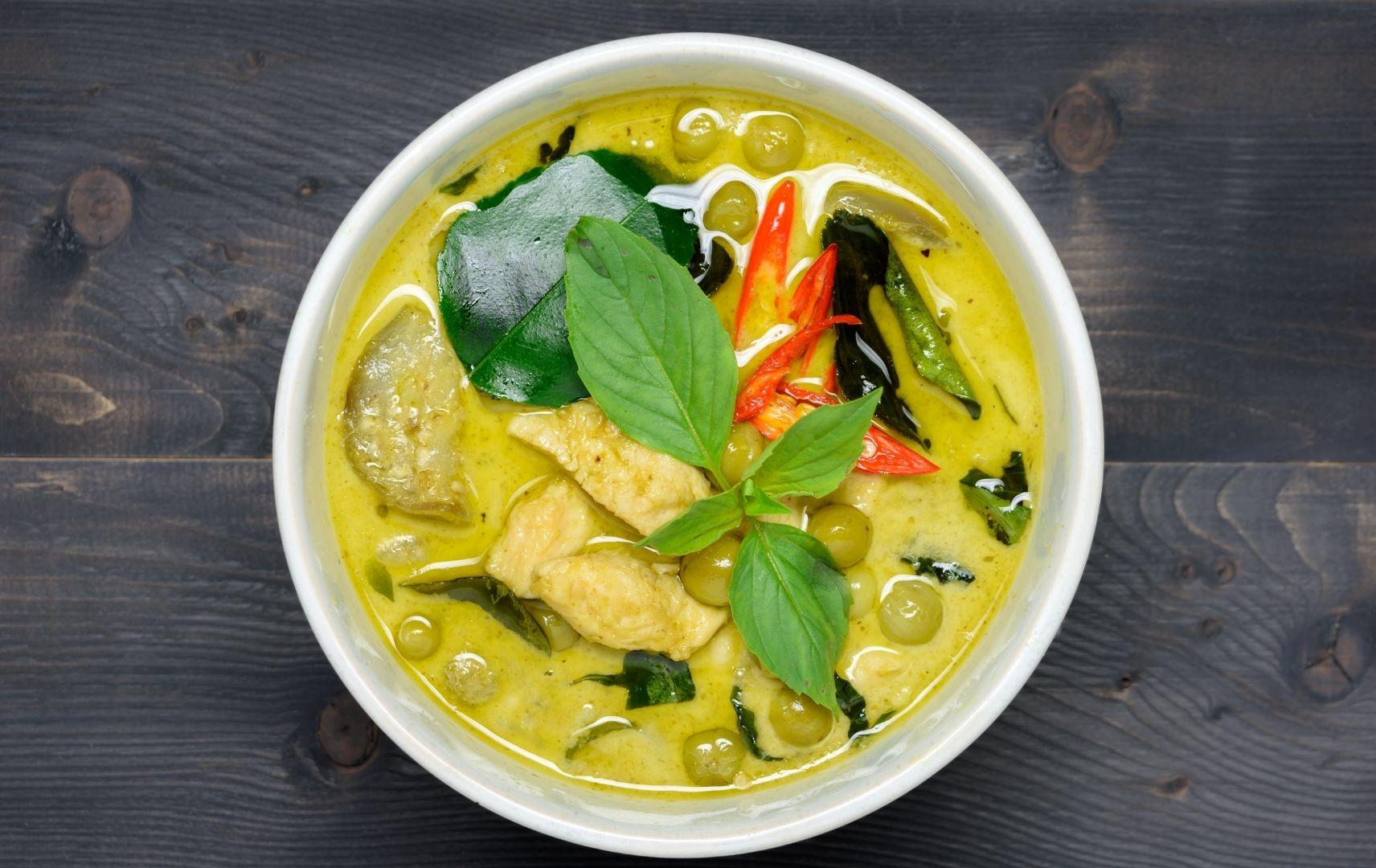 Fernreise Asien - Gelbes Curry