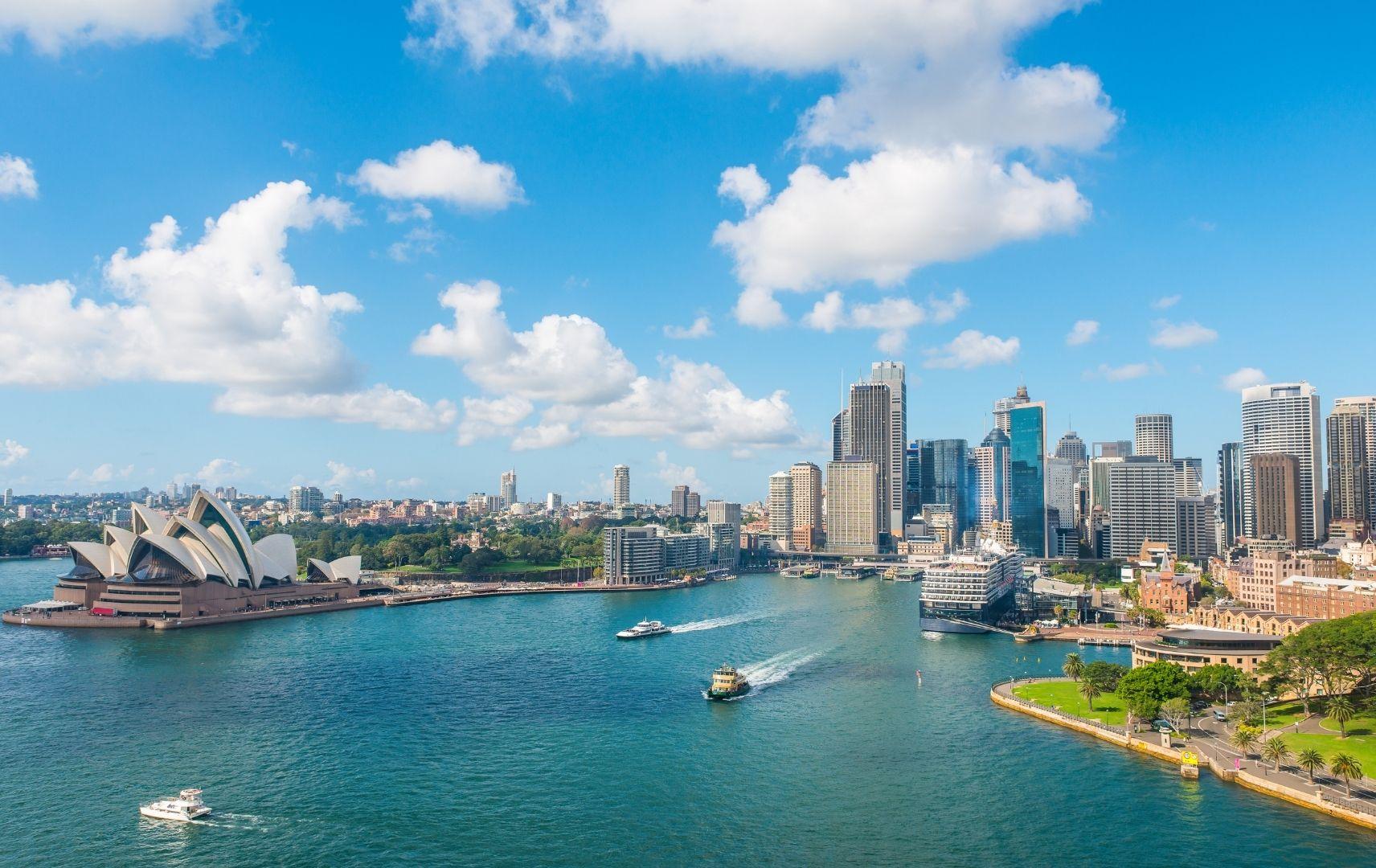 Fernreise Australien - Sydney Skyline