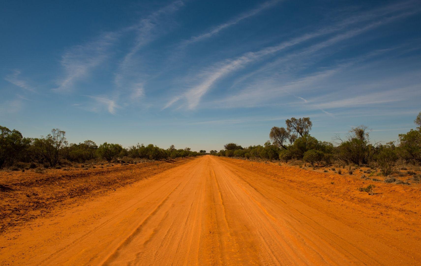 Fernreise Australien - Outback Roter Sand