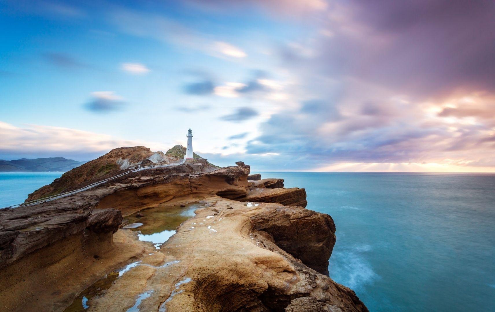 Fernreise Australien - Neuseeland Landschaft Meer