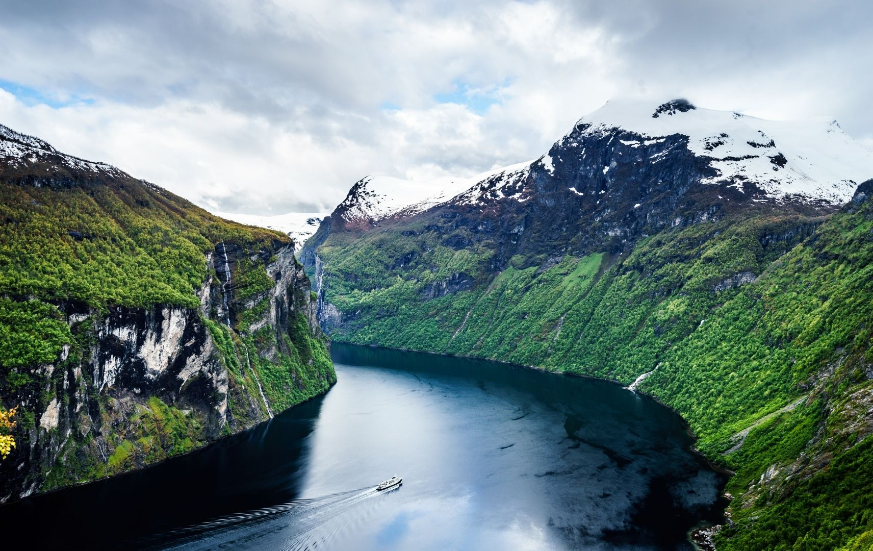 Reiseziel, Norwegen - Fjord
