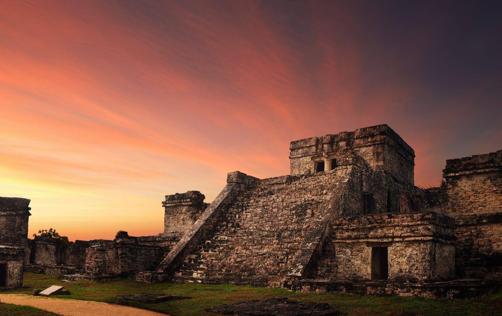 Tempel Tulum, Mexiko