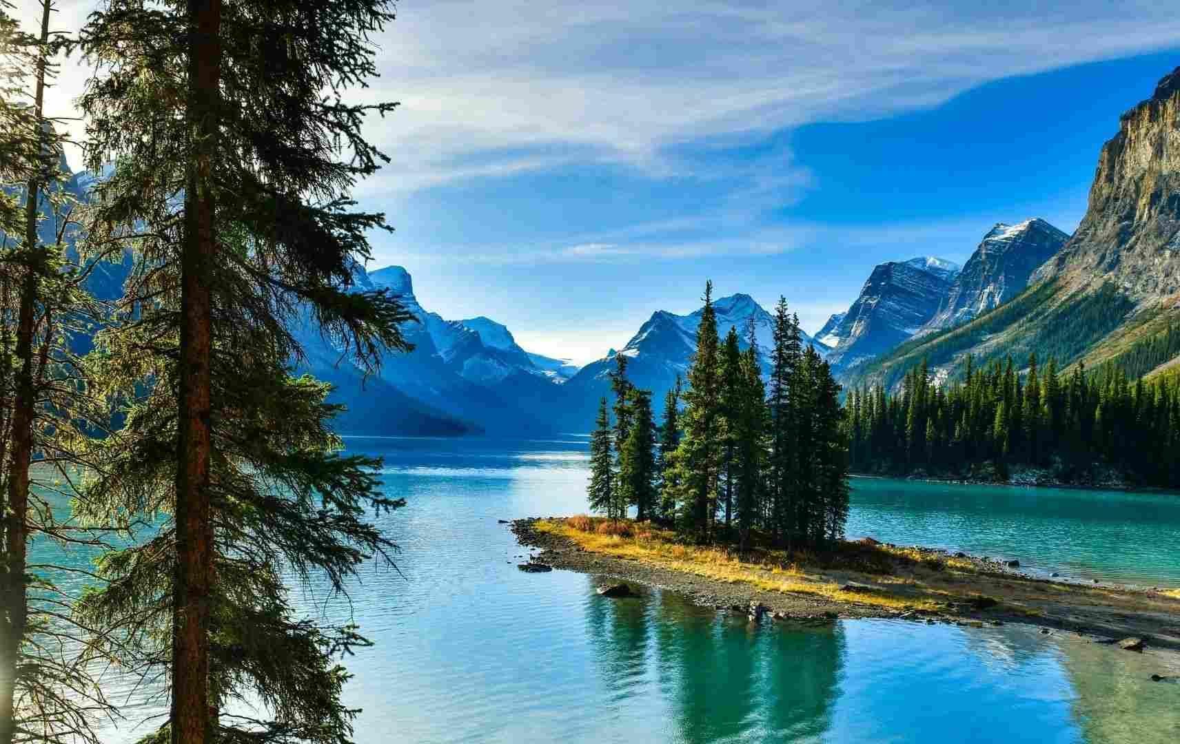 Kreuzfahrt top ten - Kanada Berge und Meer