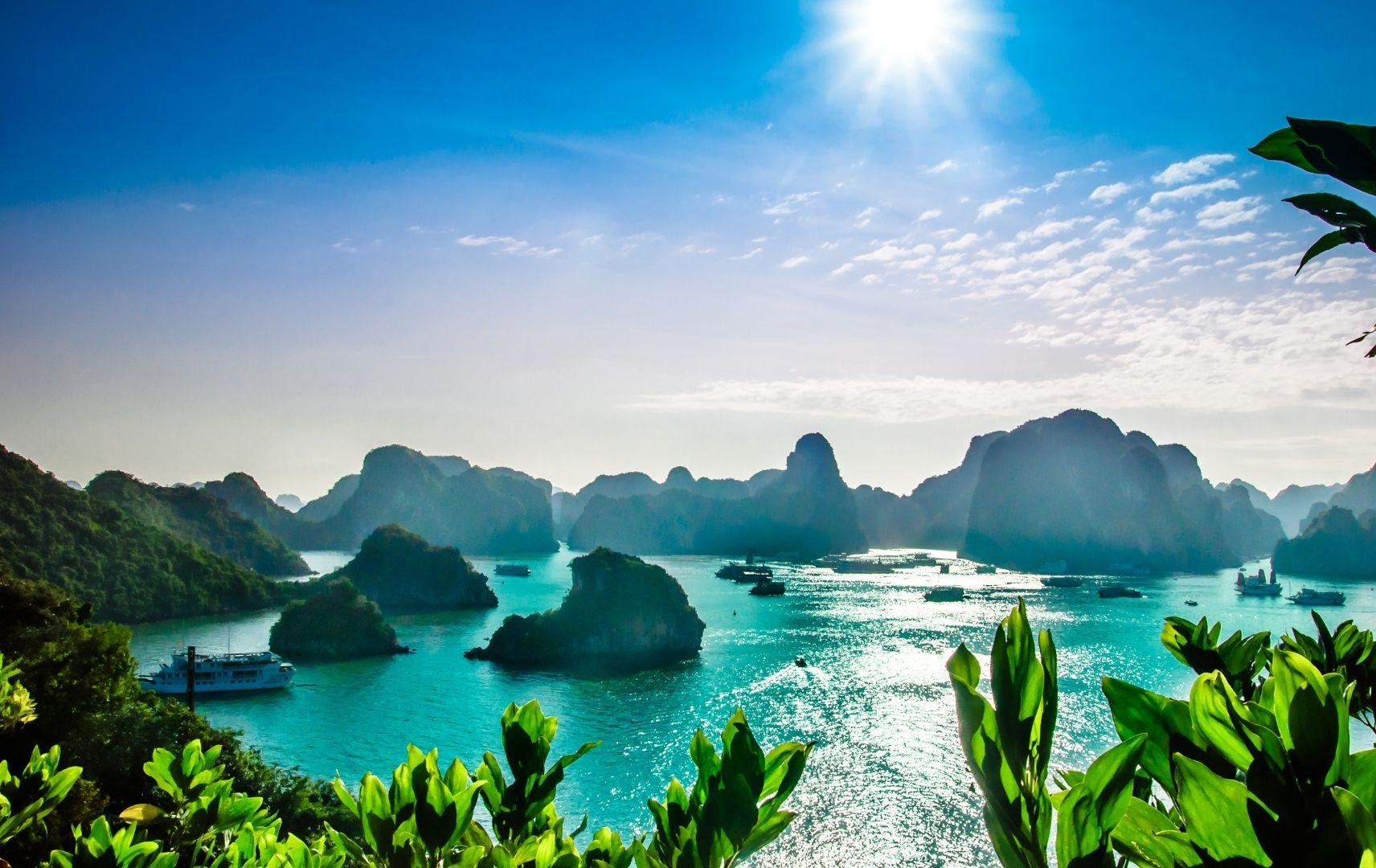 Kreuzfahrt top ten - Vietnam Bucht