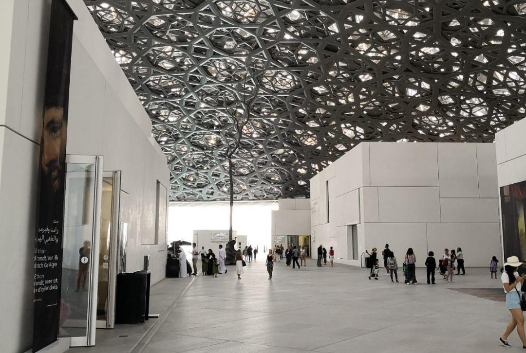 Louvre Abu Dhabi Innenansicht Museum