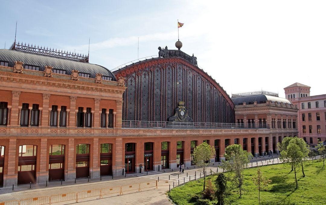 Madrid Bahnhof Atocha Gebäude