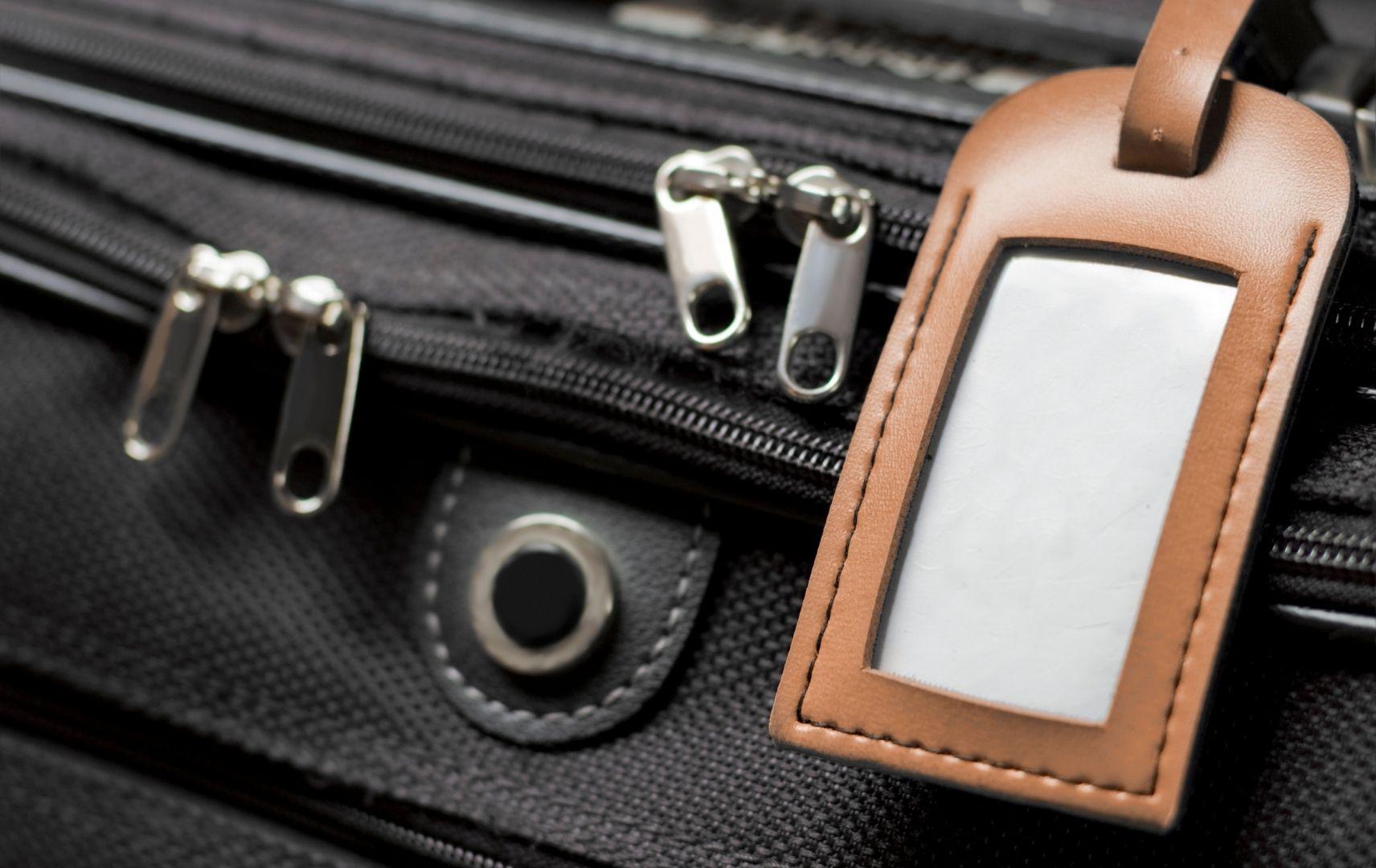 Packliste - Kofferanhänger am Koffer