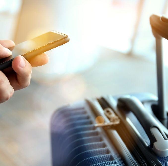 Reisen selbst buchen per Smartphone