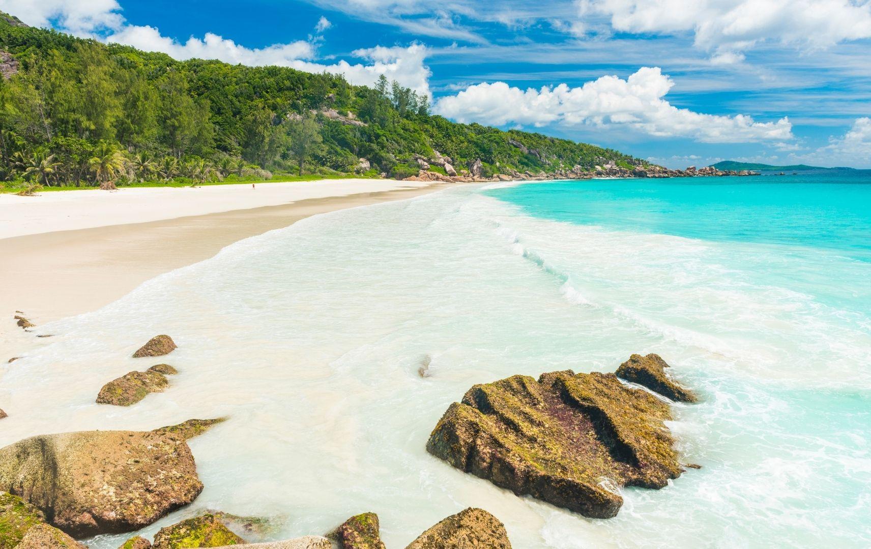 Seychellen - Anse Lazio Strand