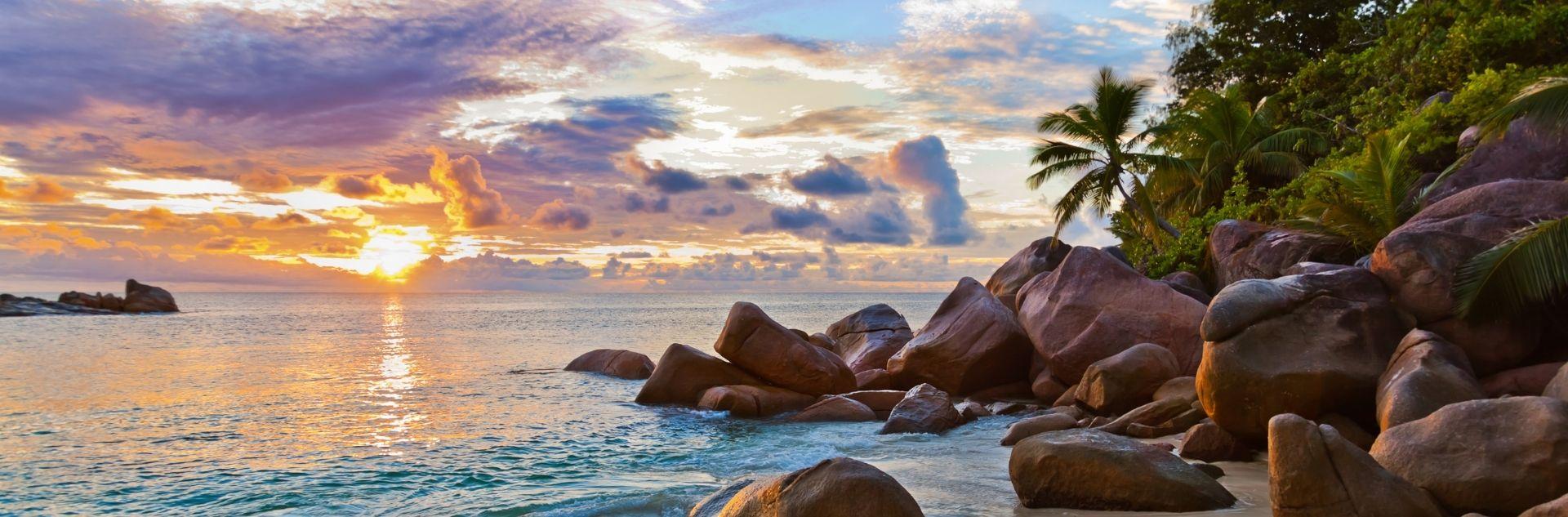 Seychellen abends