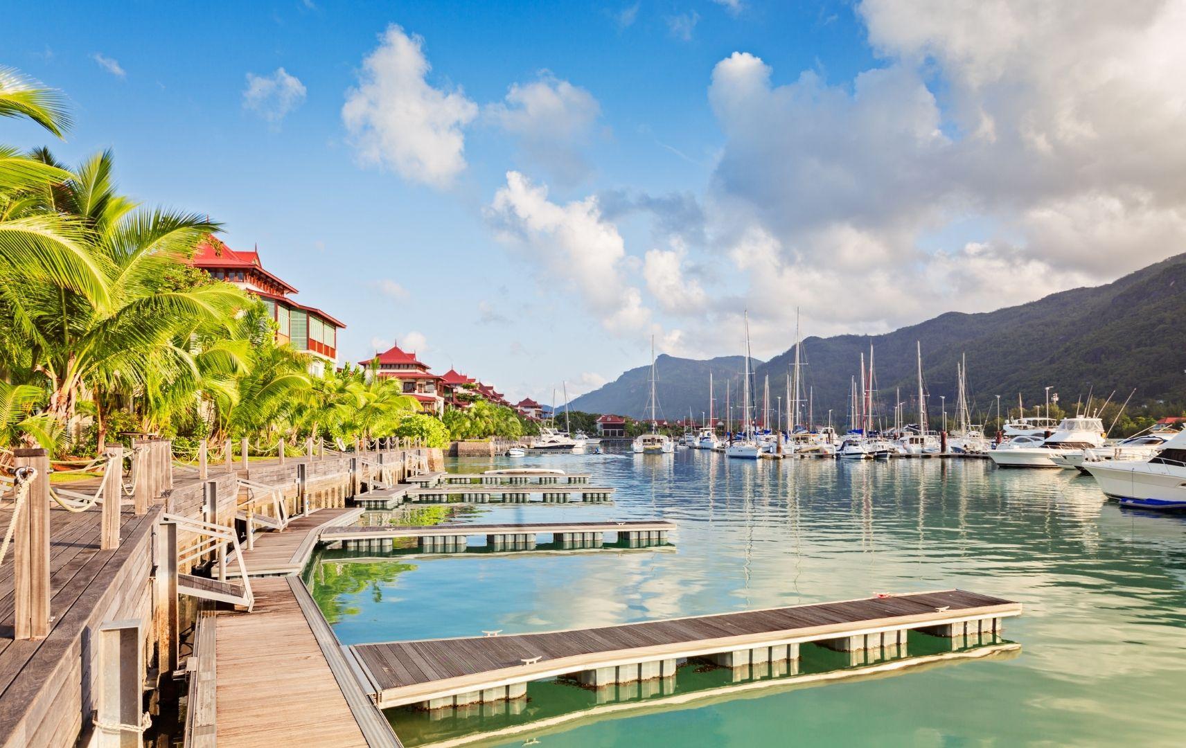 Hafen Seychellen