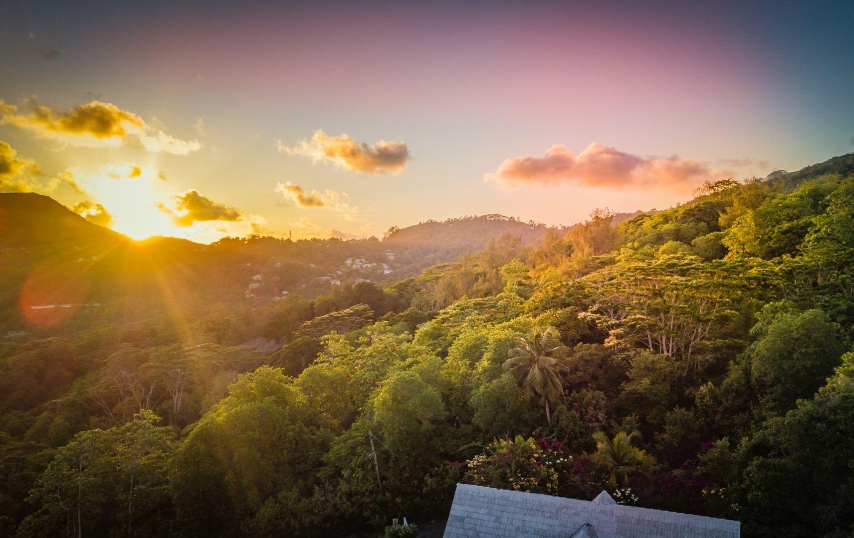 Golden Hour auf den Seychellen